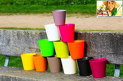 Aga Flower Pots Round Choice Of 12 Colours, Many Sizes Plant Holder ,HQ Plastic  • 6.39£