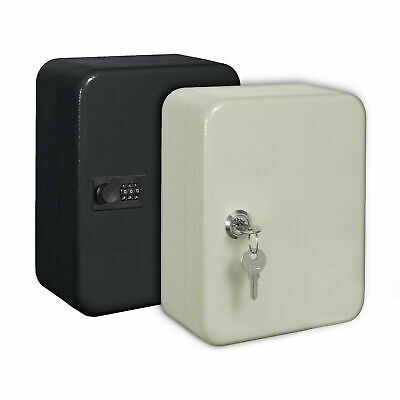 Metal 20 Combination Lock 20 Key Cabinet Wall Mounted Safe Security Storage Box • 9.44£