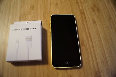 AU219 • Buy 9/10 MINT CONDITION Apple  IPhone 5c - 16GB - Yellow AUS STOCK
