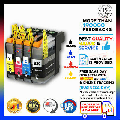 AU21.85 • Buy 20 NoN-OEM LC133 BK LC135 XL Ink For Brother MFC-J6920DW MFC-J6520DW MFC-J6720DW