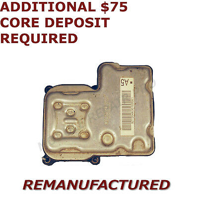 $139 • Buy REMAN 01 02 03 04 05 Chevy Silverado 1500 ABS Pump Control Module EBCM >EXCHANGE