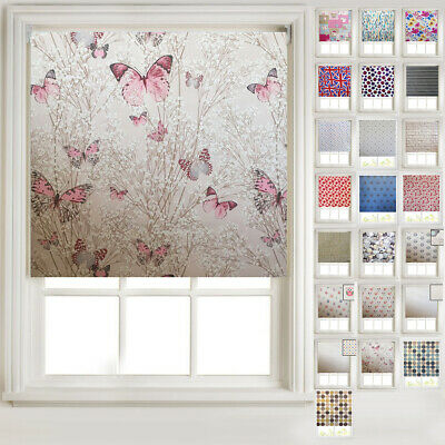 Patterned Thermal Blackout Roller Blinds - 20+ Designs -FREE CUT TO SIZE SERVICE • 19.99£