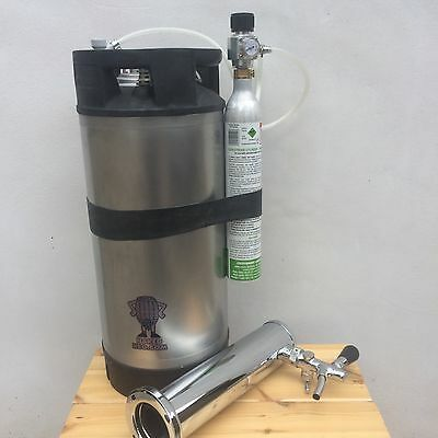 Kegerator Kit AEB Corny Cornelius Keg Refurbished 19L Sodastream CO2 Regulator • 230£