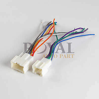 $7.11 • Buy Radio Stereo Wiring Harness Nissan 1995-07 For Aftermarket Stereo 70-7550 Metra