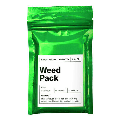 AU17.95 • Buy Cards Against Humanity Weed Pack Expansion NEW