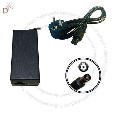Laptop Charger Adapter For HP Compaq Presario CQ61-403ea + EURO Power Cord UKDC • 18.85£