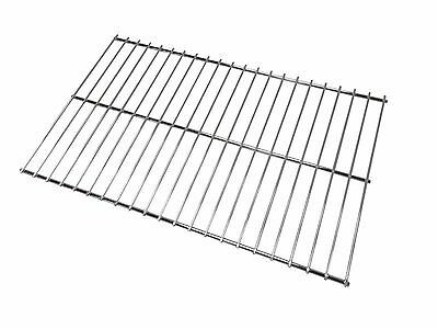 CHROME BBQ BARBECUE REPLACEMENT COOKING GRILL 35cm X 25.5cm • 11.99£