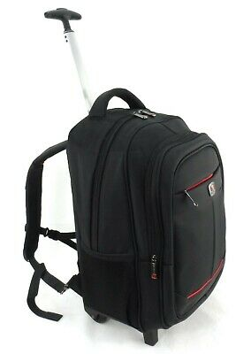 Executive Wheel Laptop Bag Backpack Business Office Travel Cabin Case Briefcase • 34.99£
