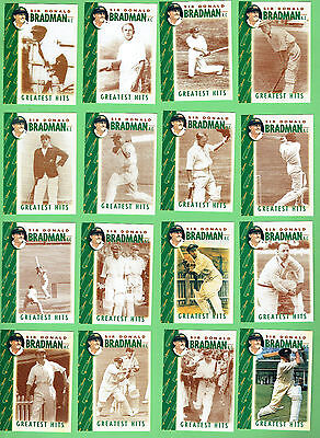 AU125 • Buy #d302.  Set Of 16 Don Bradman Weetbix Cricket Cards Plus Signed #2