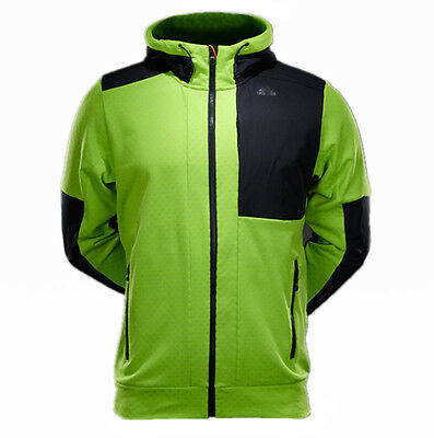 adidas Damen Jacke HT Wandertag 3 in 1 Fleece, Vivid Mint