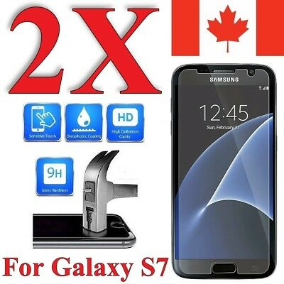 $ CDN5.95 • Buy Premium Screen Protector Cover For Samsung Galaxy S7 (2 Pack)