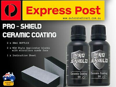 AU85 • Buy 2 X Nano Ceramic Paint Protection Glass Coating 9H+Hardness - Aussie MADE