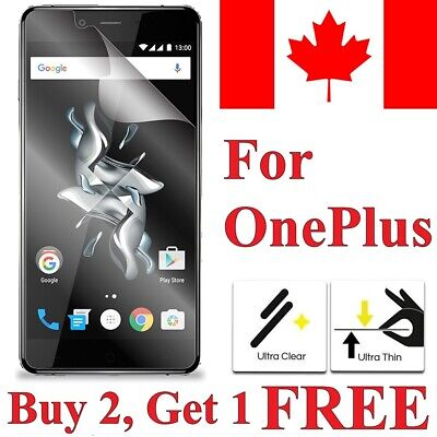 AU2.07 • Buy Clear Transparent Screen Protector Cover For Oneplus 7 6T 6 5T 5 3 3T One