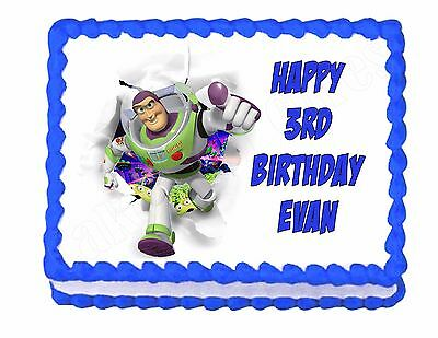 £6.51 • Buy Buzz Lightyear Toy Story Edible Cake Image Frosting Sheet Party Decoration