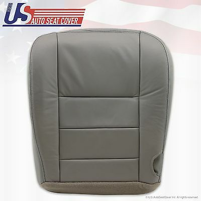 $68.31 • Buy 2002 03 04 05 06 07 Ford F250 F-350 Lariat Bottom Seat Cover Gray All Vinyl