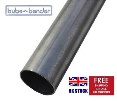 £18.18 • Buy 38mm OD (1.5 ) 2000mm 1.5mm Wall Mild Steel Exhaust Round Tube / Pipe
