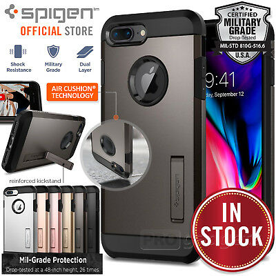 AU29.99 • Buy SPIGEN Heavy Duty Tough Armor 2 Hard Cover For IPhone 8 Plus / 7 Plus Case