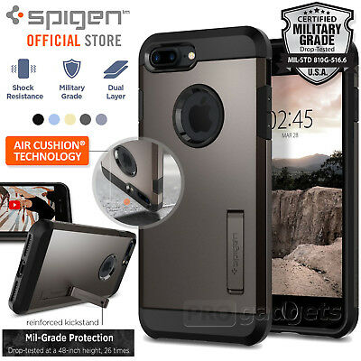 AU39.99 • Buy [FREE EXPRESS] IPhone 7 Plus /7s Plus Case, Spigen Tough Armor 2 Cover For Apple