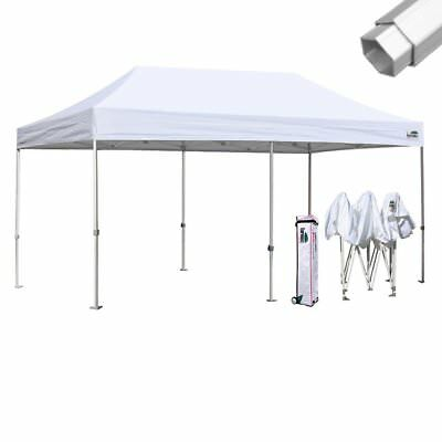 $699.95 • Buy Eurmax Professional EZ Pop Up 10x20 Canopy Patio Party Shade Tent W/Roller Bag