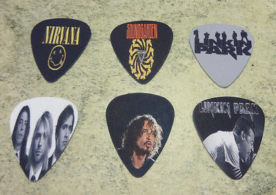 $ CDN6.36 • Buy One Set Of 6 Rock Band Single Sided Picture Guitar Picks (SERIES 2)