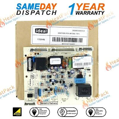 IDEAL MINI C24 C28 C32 & S24 S28 BOILER FULL SEQUENCE PCB 172548 See List Below • 26.50£