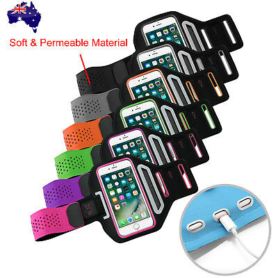 AU10.95 • Buy Sports Gym Running Armband For Apple IPhone 12 Mini SE 11 Pro XS Max X Arm Band