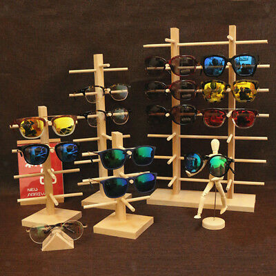 AU23.18 • Buy 3/4/5/6 Layers Sunglasses Eyeglass Rack Display Stand Organizer Show Holder Wood