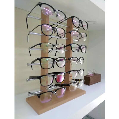 AU48.84 • Buy 3/4/5 Layer Wood Glasses Eyeglasses Sunglasses Show Stand Holder Display Rack