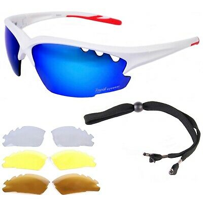 SUNGLASSES FOR CYCLING Running, Triathlon, Athletics: Multi Lenses: Mens& Womens • 39.99£