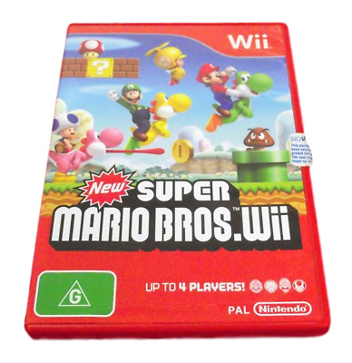 AU41.90 • Buy New Super Mario Bros Nintendo Wii PAL *Complete* Wii U Compatible