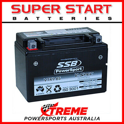 AU94.95 • Buy SSB 12V 260CCA 10AH VTX9-BS For Suzuki GSX750F 1989-1997 AGM Battery YTX9-BS