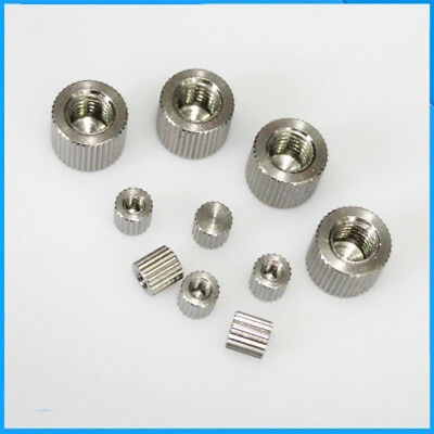 $10.98 • Buy M2 M2.5-M6 Stainless Steel Blind Hole Hand Nut Cylinder No Holes Cap Nuts 4Pcs
