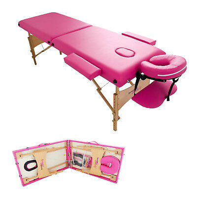 Massage Table Bed Portable Beauty Couch Professional Folding Lightweight Salon • 62.99£