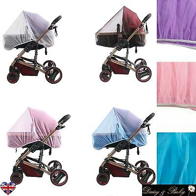 £4.55 • Buy Cat MOSQUITO NET Pushchair Cot Moses Basket Pram Carseat Safety Stroller Buggy