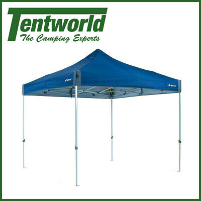 AU199 • Buy OZtrail Deluxe 3.0 Outdoor Shade Shelter Hydro Flow Gazebo Marquee Blue
