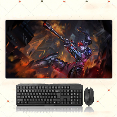 AU35.33 • Buy  GAME Overwatch Widowmaker Extra Large Mouse Pad Free Shipping(32'' * 16'')