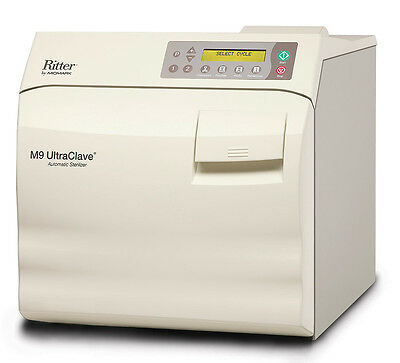 $4975 • Buy NEW Ritter / Midmark M9 Ultraclave 3.5 Gal. Steam Sterilizer / Autoclave M9-022