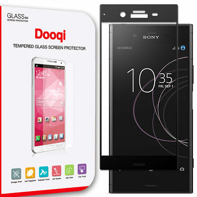 AU9.46 • Buy Dooqi Premium Full Cover Tempered Glass Screen Protector For Sony Xperia XZ1
