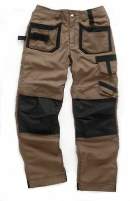 Scruffs Pro Trade Trousers Brown Work Pants Cordura • 22.95£