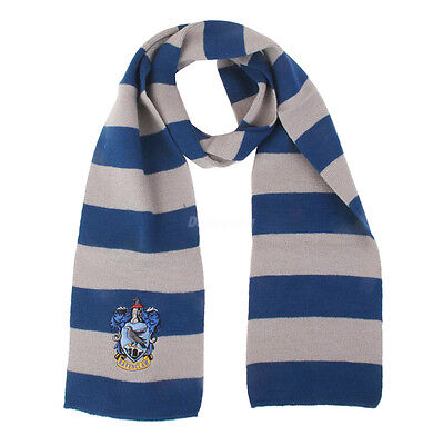 $ CDN11.19 • Buy Harry Potter Vouge Ravenclaw House Cosplay Knit Wool Costume Scarf Wrap