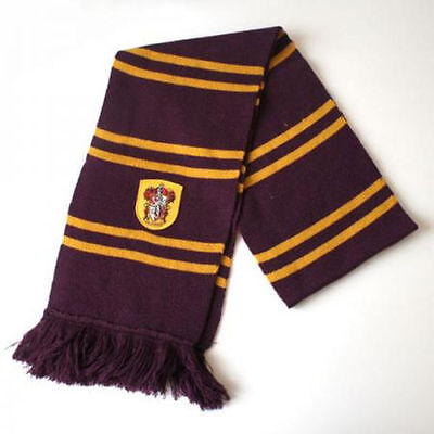 $ CDN17.42 • Buy For Harry Potter Fans Gryffindor Thicken Scarf Soft Warm Costume Cosplay