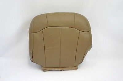 $97.40 • Buy 1999 2000 2001 2002 GMC Sierra Driver Side Bottom Leather Seat Cover TAN