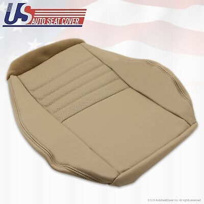 $139.49 • Buy 1999 To 2004 Ford Mustang GT Coupe Driver Bottom Leather Seat Cover TAN