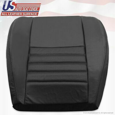 $140.58 • Buy 1999 Ford Mustang Cobra SVT Driver Bottom Perforated Leather Seat Cover Black
