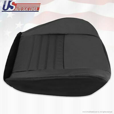 $140.58 • Buy 1999-2004 Ford Mustang GT PASSENGER Bottom Perforated Leather Seat Cover Black