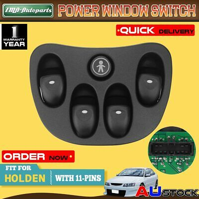 AU23.99 • Buy 4 Button Power Master Window Switch For Holden Commodore VX VT 1997-2003 Sedan