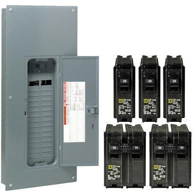 60 amp breaker panel