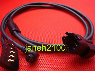 Genuine Car Motorcycle Power Cord Adapter Cable Charger Garmin Rino 110 120 130 • 5.69$
