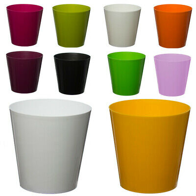 Aga Flower Pots, Round Choice Of 11 Colours, Many Sizes Plant Holder ,HQ Plastic • 2.29£