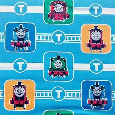 £10.40 • Buy Thomas The Tank Engine Cotton Fabric For Dressmaking And Quilting, Per Metre